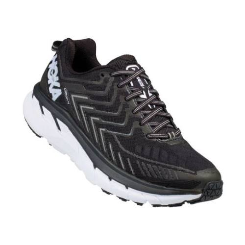Hoka One One Clifton 4 Women's Wide D Black, White 1016780 BWHT