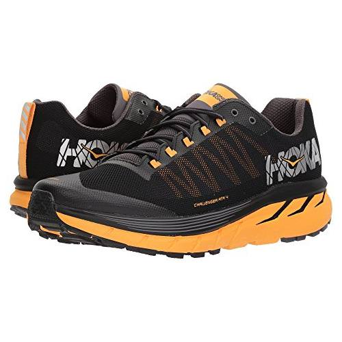 Hoka One One Challenger ATR 4 Men's Trail Black, Kumquat 1018294 BKMQ