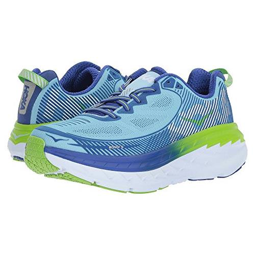 Hoka One One Bondi 5 Women's Sky Blue, Surf The Web 1014759 SBSTW