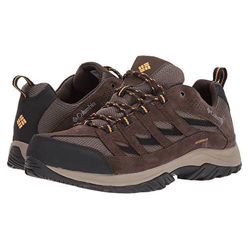 Columbia Crestwood Waterproof Mens Hiker Mud, Squash BM5372 255