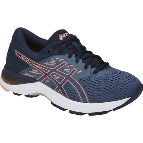 Asics GEL Flux 5 Women's Running Shoe Blue, Cantaloupe, Peacoat T861N 5630