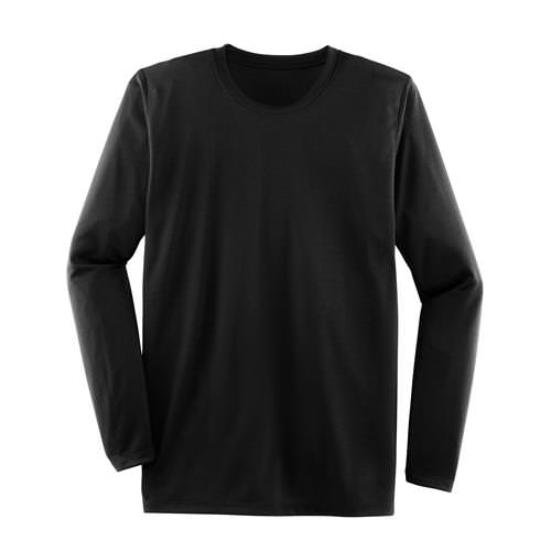 Brooks Mens Podium Long Sleeve Athletic Shirt in Black 210956.001
