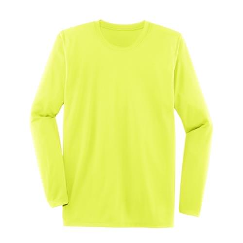 Mens Podium Long Sleeve Athletic Shirt in Nightlife 210956.305