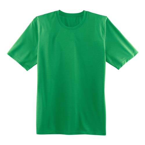 Brooks Mens Podium Short Sleeve Athletic Shirt in Podium Green 210957.319