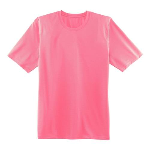 Brooks Womens Podium Short Sleeve Athletic Shirt in Brite Pink 221097.605