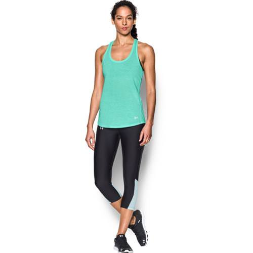 Under Armour Women's UA Streaker Running Tank Top Crystal, Reflective 1271522-960
