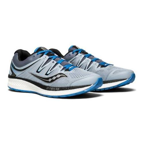 Saucony Hurricane ISO 4 Men's  Wide EE Grey, Blue, Black S20412-2