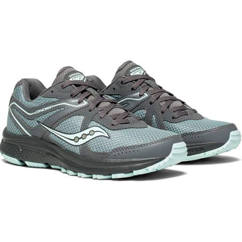 Saucony Cohesion TR11 Women's Trail Running Grey, Mint S10427-1