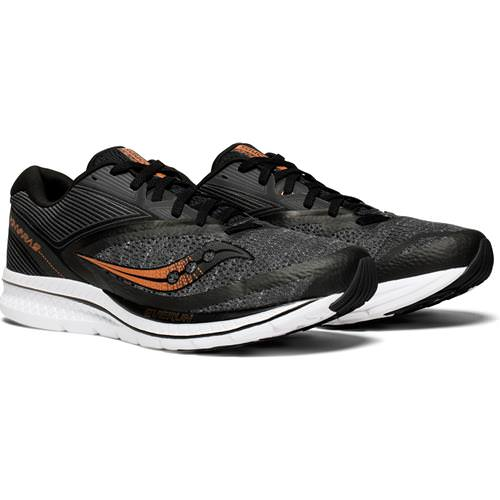 Saucony Kinvara 9 Men's Black, Denim, Copper S20418-30