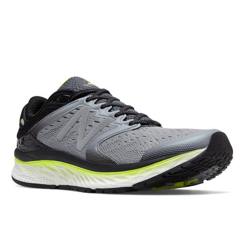 New Balance M1080 Men's Running Shoe Steel, Black, Hi-Lite M1080GY8