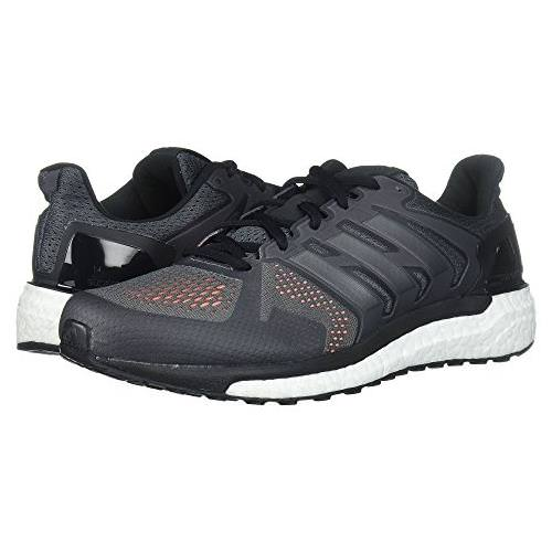 Adidas Supernova ST Men's Running Shoes Grey, Core Black, Solar Orange CG3063