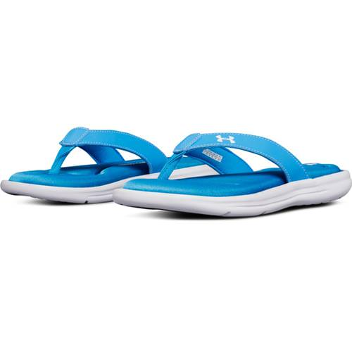 Under Armour Women's Marbella VI Canoe Blue, White 3000072-303
