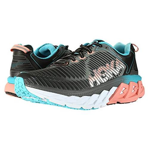 Hoka One One Arahi Women's Black, Peach Amber 1016259 BPAM