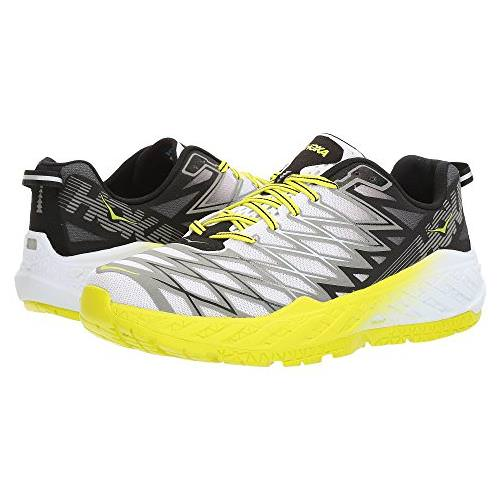 Hoka One One Clayton 2 Men's Black, White, Citrus 1014774 BWCT
